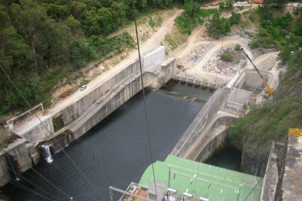 Upgrade of bottom outlets on Peares Dam, Spain