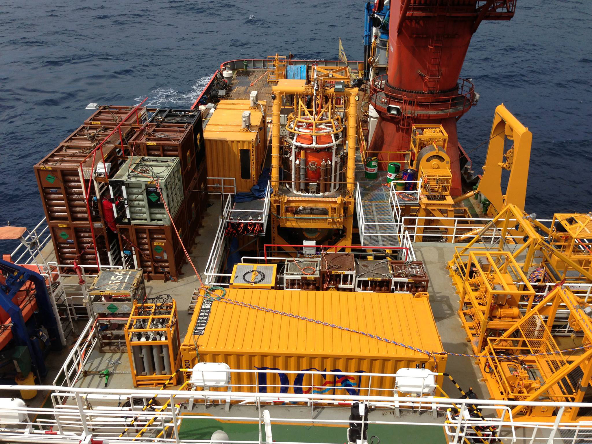 """Saturation Diving NPDC 16"""" Pipeline Replacement, Nigeria"""