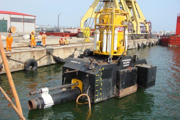P 4072 - GSP Sochi Pipeline Hyperbaric Repair