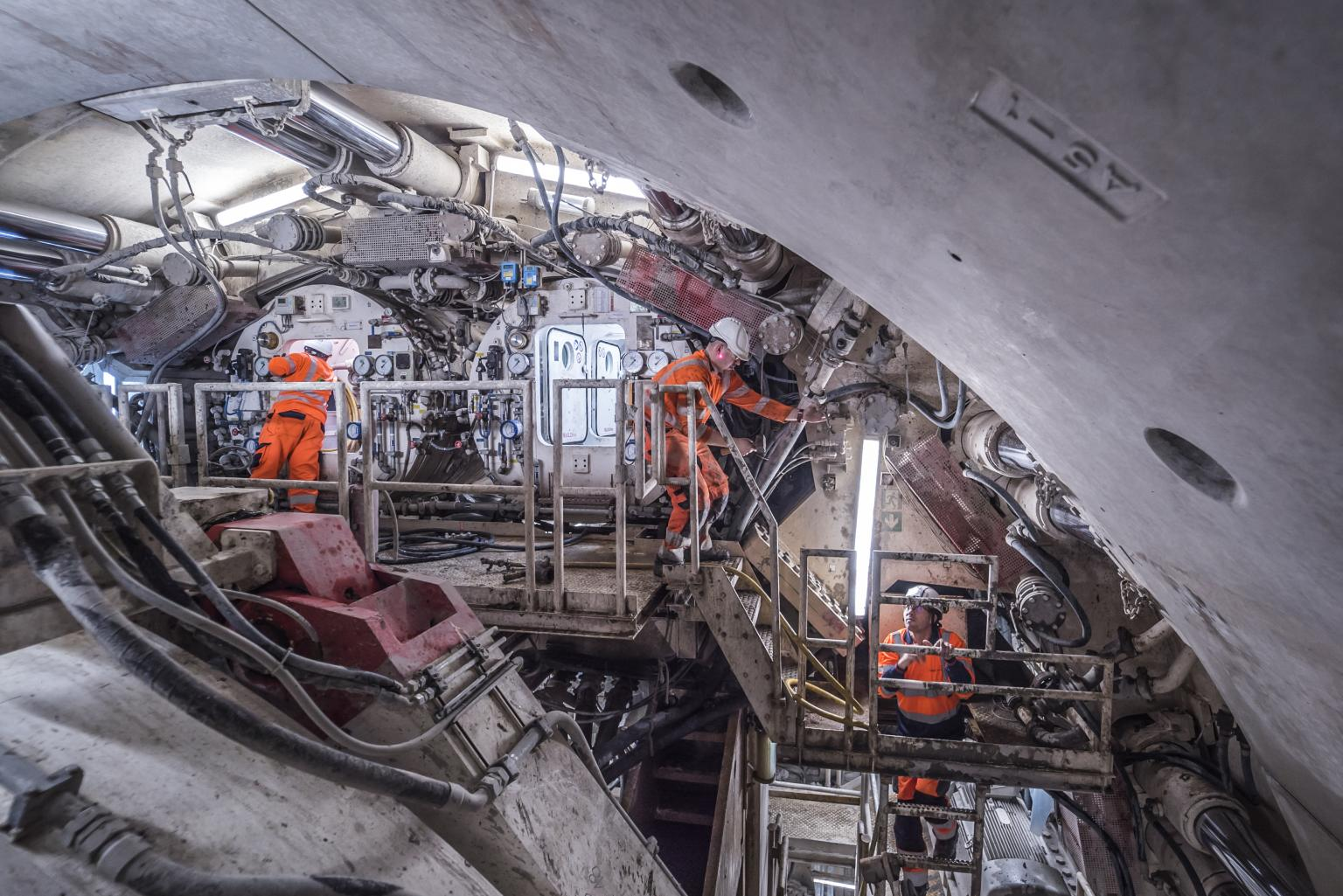 Tunnel Boring Machine Rijnlandroute